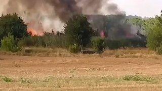 Частично бедствено положение в четири хасковски общини заради пожари