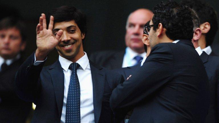 Инвестициите на новите собственици на Сити в клуба достигнаха милиард лири