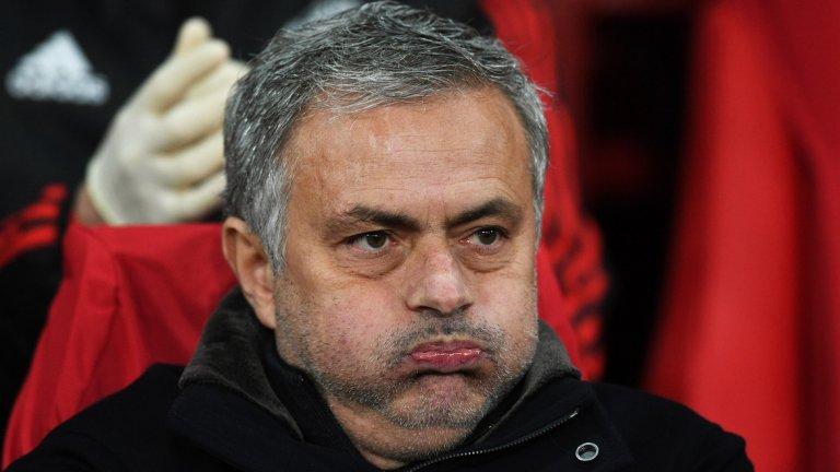 Очертава се тежка година за Манчестър Юнайтед и Жозе Моуриньо...