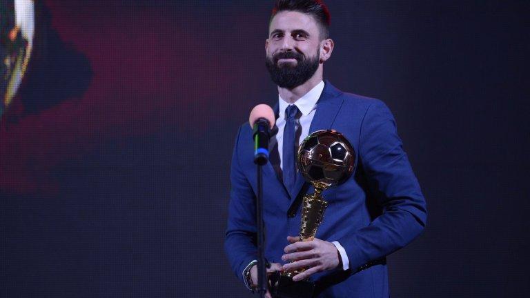 Силните мачове с екипа на Локомотив осигуриха наградата на Илиев, който призна, че е сбъднал своя детска мечта и изобщо не си е представял такава година