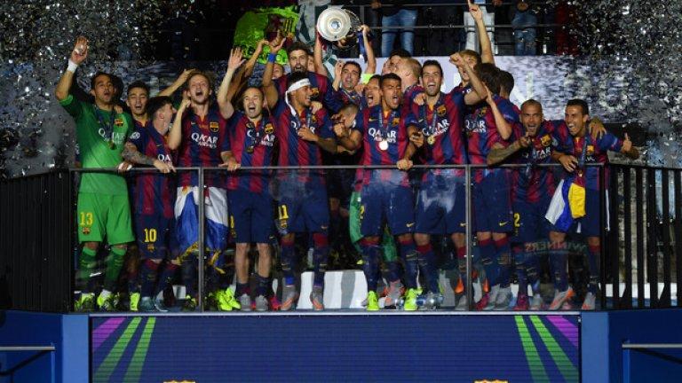Барселона доминира в отбора на сезона в Шампионската лига. Вижте кои намериха място сред най-добрите...