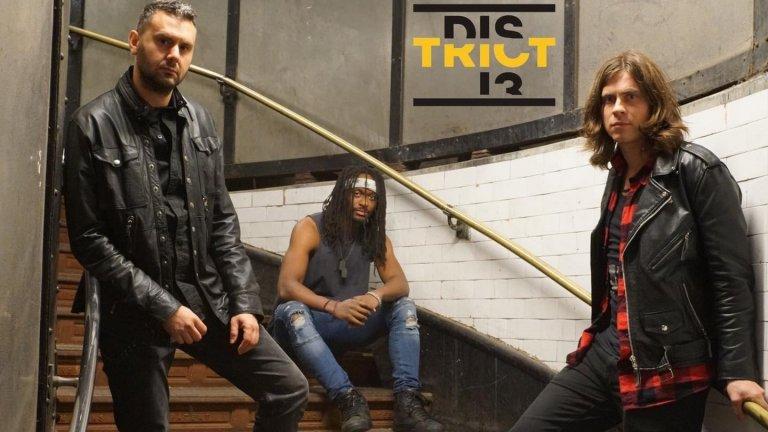 Нови гласове: District 13 – алтърнатив рок трио със заряд по оста Лондон-София