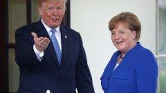 Двамата лидери проведоха обща пресконференция