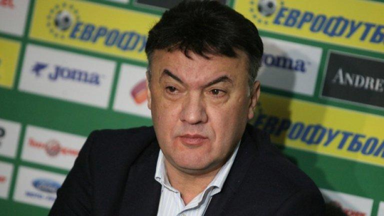 Едва ли има човек, който да се съмнява в преизбирането на Борислав Михайлов за президент на БФС