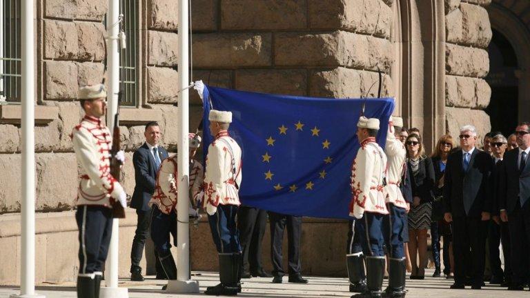 От 1985 г. денят е празник на идеята за Обединена Европа