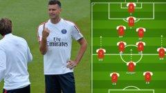 Ето как би изглеждала системата 2-7-2 на Тиаго Мота, при която вратарят може да играе пред защитниците
