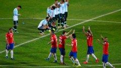 Миналогодишните финалисти Чили и Аржентина ще се срещнат още в груповата фаза на Копа Америка 2016