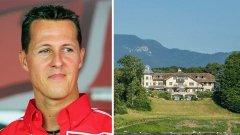 Съпругата на Шумахер продава легендарното имение край езерото Женева
