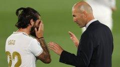 Зидан: Иско е играч на Реал, но не знам още колко