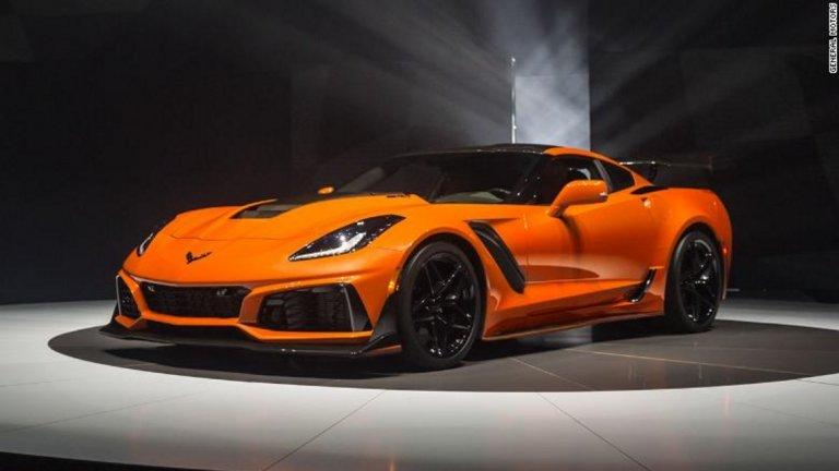 """Специална награда за """"Колата, която би си купил, но знаеш, че не бива, защото после ще те е срам"""" (или т.нар. категория """"Сара Пейлин"""") отива при Corvette ZR1"""