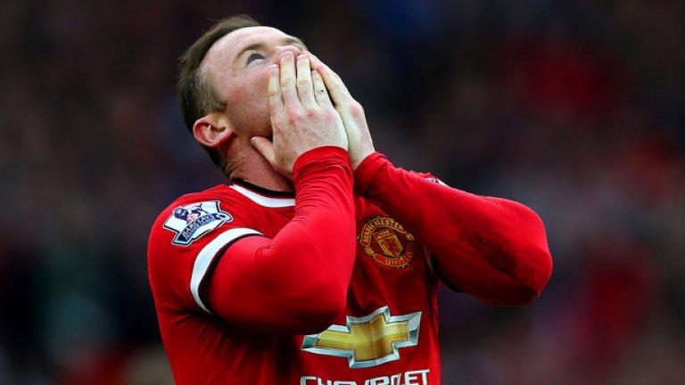 Уейн Рууни отново ще е основният нападател на Юнайтед