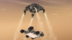 """""""Кюриосити"""" започна измервания и на колебанията в атмосферното налягане на Марс"""