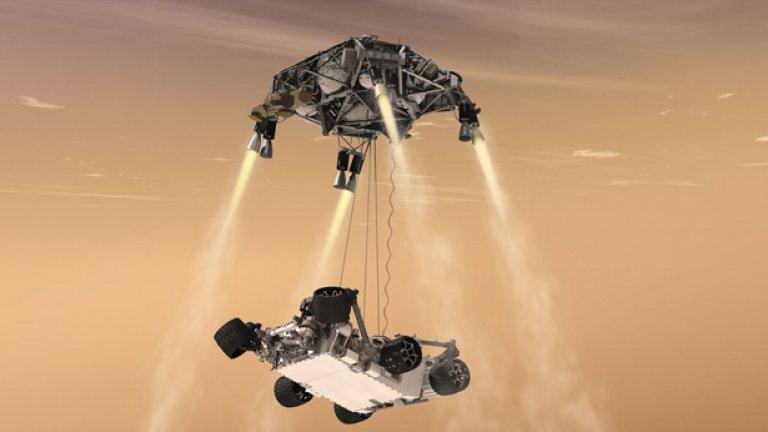 Засега на Марс стъпиха само роботи