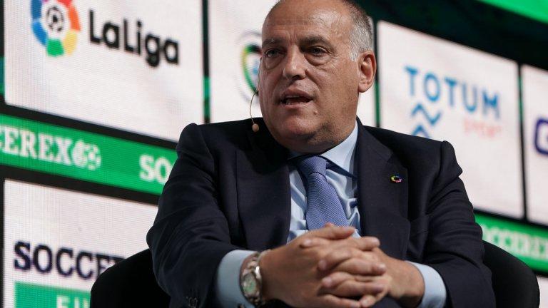 Шефът на Ла Лига често се възмущава от влиянието на Сити и ПСЖ върху европейския футбол