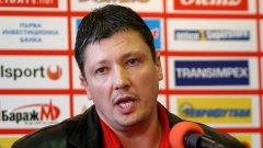 Засега Любослав Пенев демонстрира, че няма нужда от Мартин Петров