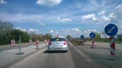 """Ремонтите по бул. """"Цариградско шосе"""" продължават"""