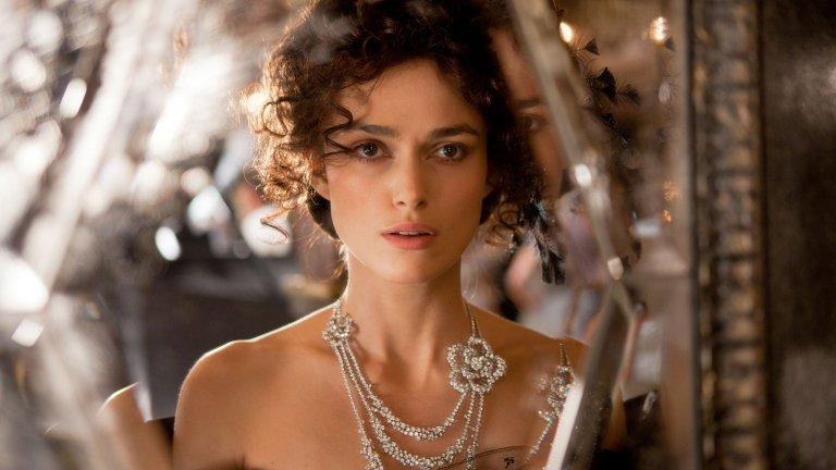 В ролята на Анна Каренина в едноименния филм на Джо Райт по романа на Лев Толстой. Трагичната история на Каренина е филмирана цели 25 пъти, като предпоследният филм е този с Кийра Найтли. Най-новият е от 2017г. и е с участието на руската актриса Елисавета Боярска