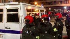 Сред арестуваните бе и рапърът ST, който нямаше нищо общо с безредиците.