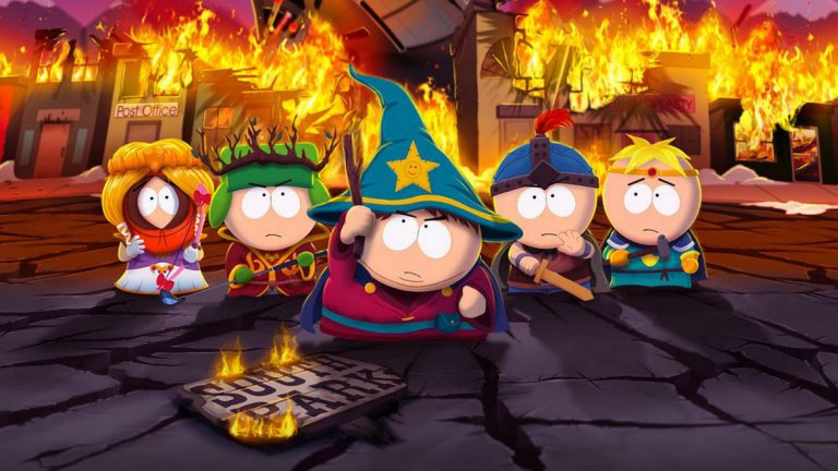 И 4 от най-добрите игри по сериали   South Park: The Stick Of Truth (PS3, Xbox 360, PC)  Винаги готови да комбинират поп култура, хаплив хумор и гейминг, създателите на популярния анимиран сериал South Park Мат Стоун и Трей Паркър решиха да направят амбициозна игра по него. На помощ им се притекоха майсторите на ролевия жанр от Obsidan Entertainment и резултатът бе изненадващо добър.   В The Stick Of Truth царува добре познатата шантава атмосфера - зомбита-нацисти, откачени босове и палави закачки. Подобно на своята Fallout: New Vegas, тук Obsidan също добави множество опции за различни класове, специални атаки, ъпгрейди и умения. С други думи - готино RPG със запазената марка на South Park.