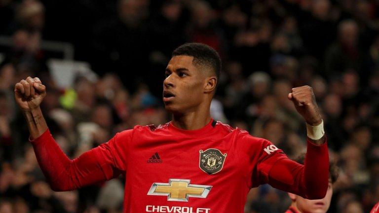 Рашфорд донесе победата с двата си гола и беше най-опасният футболист на домакините