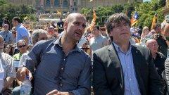 Испанската полиция конфискува материали за каталонския референдум