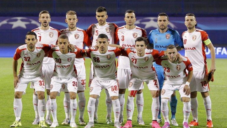 Отборът на Шкендербеу от сезон 2015/16, когато изиграва няколко крайно съмнителни мача, донесли милиони от залози