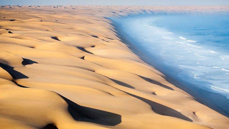 Пустинята в Намибия