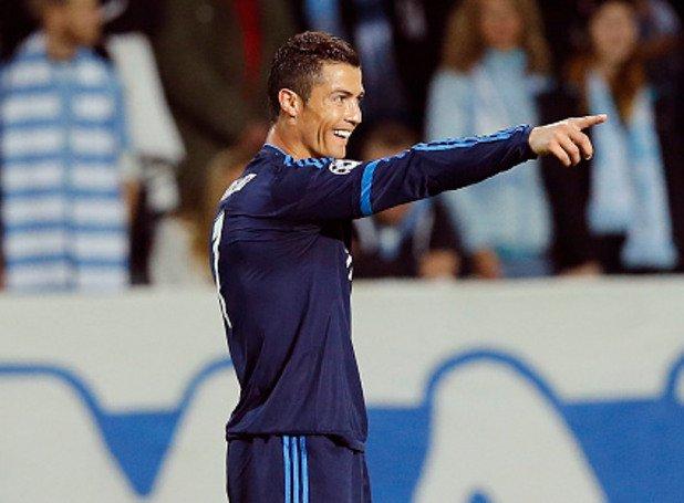 Зад нападателя: Кристиано Роналдо (Реал Мадрид)