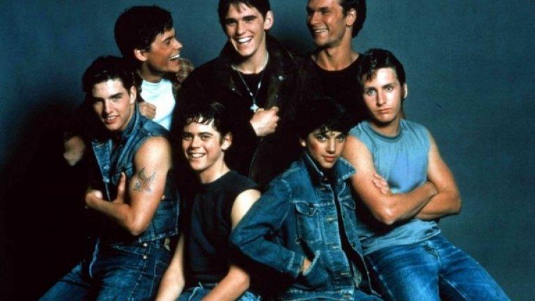 Аутсайдерите (1983)  Във филма на Франсис Форд Копола се появяат не толкова известните по това време Даян Лейн, Том Круз, Мат Дилън, Патрик Суейзи, Емилио Естевес