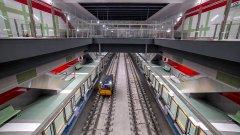 Причината - финални тестове преди пуснаето на 4 нови метростанции по нея