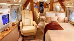 Така изглежда отвътре частният самолет на Лионел Меси.