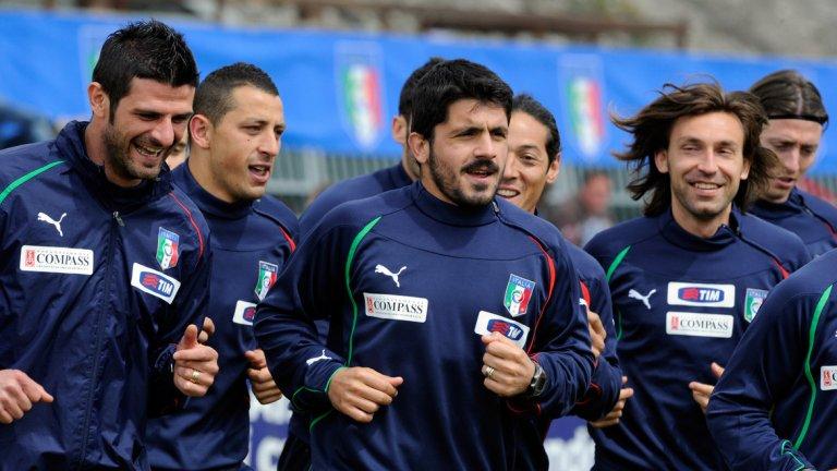 Андреа Пирло е на път да стане помощник на Роберто Манчини в националния отбор на Италия