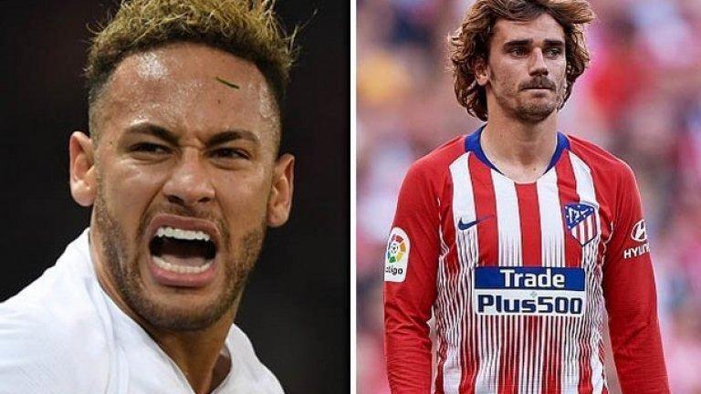 Още две скъпоструващи звезди в съблекалнята на Барселона, на които трябва да им се намери място сред титулярите - това ще създаде взривоопасна ситуация и изглежда по-логично от клуба да изберат само един от двамата