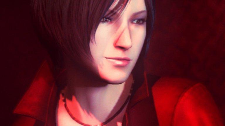"""Ейда Уонг (поредицата Resident Evil)  Ейда е антигероиня в емблематичната хорър поредица Resident Evil и миналото й е забулено в мистерия. Тя работи като наемник и владее смъртоносни бойни умения, а коварството й означава, че никой не знае на чия страна всъщност е. Сред верните фенове на поредицата и до днес съществува дебат дали мис Уонг наистина е отрицателен персонаж или не; понякога тя върши добри неща, а друг път е напълно егоистична. В емблематичен момент от кампанията на Resident Evil 6 Ейда е запитана срещу какво се сражава, отговорът е """"Срещу всичко, което застане на пътя ми"""". Няма съмнение, че екзотичната й визия е точно толкова мистериозна, колкото и характерът й."""