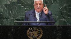 Махмуд Абас иска международната общност да осъди израелските действия на палестински територии.