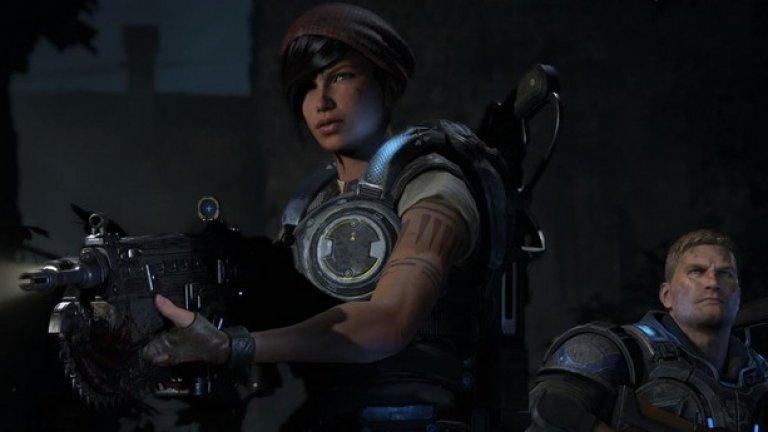 Gears of War 4 е един от козовете на Microsoft, с които да навакса изоставането от Sony