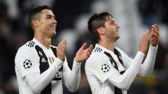 Роналдо и Бентанкур вкараха по веднъж за успеха