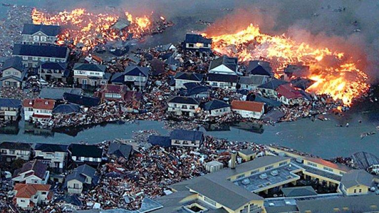 Зловещите земетресения в Япония