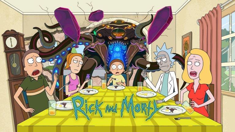 """""""Рик и Морти"""" (Rick and Morty) Пети сезон на анимационната поредица за възрастни """"Рик и Морти"""" ще се излъчва ексклузивно по стрийминг платформата HBO GО, която ще предостави и първите четири сезони на анимационния сериал. Ако не сте гледали хитовото шоу до момента, в центъра му е ученият Рик Санчес, който живее с дъщеря си Бет и съпруга ѝ Джери. Ежедневието на Рик е свързано с междугалактически приключения, на които го придружава неговият внук Морти, а шарената вселена на сериала става все по-богата епизод след епизод. С мрачното си и на много места импровизирано чувство за хумор, както и с безумните (но смели) фантастични идеи, """"Рик и Морти"""" се превърна в попкултурен феномен. И си струва да му хвърлите едно око. Премиера: 21 юни по HBO GO"""