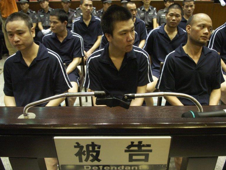 Процес срещу арестувани членове на Триадите в Китай