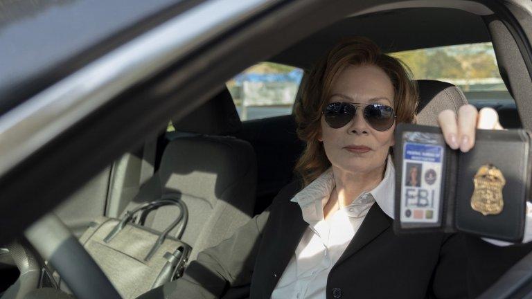 """Най-добра актриса в поддържаща роля в драматичен сериал: Джийн Смарт (""""Пазителите"""", HBO)"""