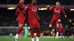 Дивок Ориги остави Ливърпул в мача с двата си гола през второто полувреме, а после се разписа и при дузпите