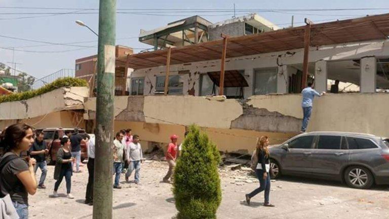 Силно земетресение със стотици жертви в Мексико