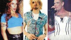 Оказва се, че дори в рокли, рок величията са си рок величия