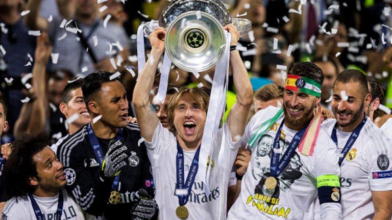 Реал Мадрид обра всички индивидуални награди на УЕФА