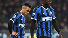Лукаку не успя да помогне на Интер да прескочи групата.