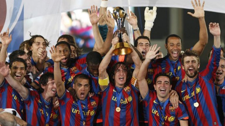 Барселона триумфира с титлата от Световното клубно първенство преди две години в Абу Даби, дали ще го направи и в Япония?