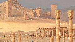 ИДИЛ пое контрола над Палмира през май тази година