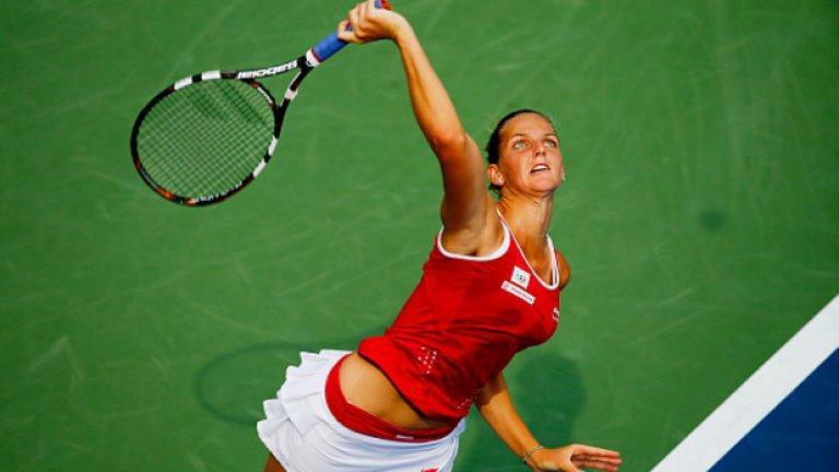 13. Каролина Плишкова – една от изгряващите звезди на WTA. Плишкова стигна и до №7 по едно време през годината, благодарение на шестте финала, които изигра.