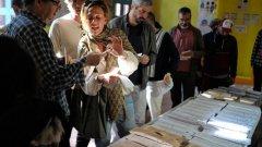 По решение на ЦИК на местните избори на 25 октомври в 50 секции в София ще се проведе машинно гласуване
